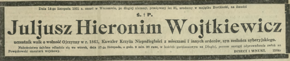 Hieronim Juliusz Wojtkiewicz